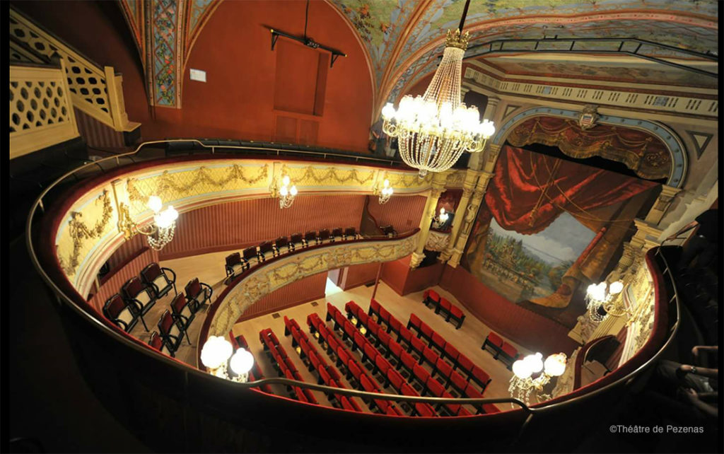 Théâtre à l'italienne